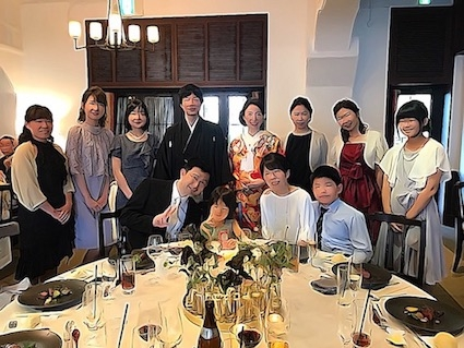 辻先生結婚式